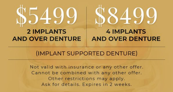denture spacial offer